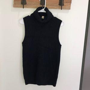 Michael Kors NWT sleeveless turtleneck sweater